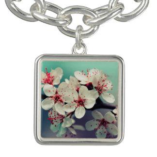 Rosa Kirschblüte, Cherryblossom, Kirschblüte Charm Armband