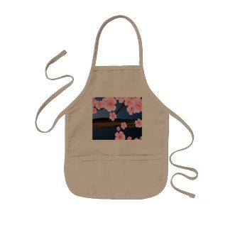 Rosa Kirschblüte Kinderschürze