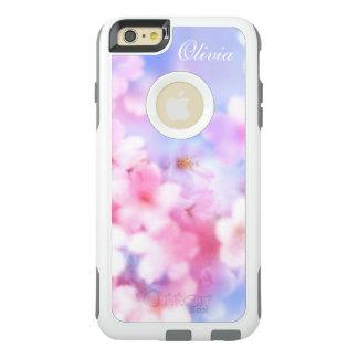 Rosa Kirschblüten-elegantes Aquarell OtterBox iPhone 6/6s Plus Hülle