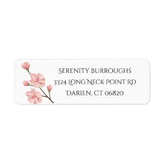 Rosa Kirschblüten-mit BlumenBlumen, die Party