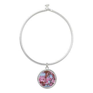 Rosa Kirschblüten-Natur Armreif