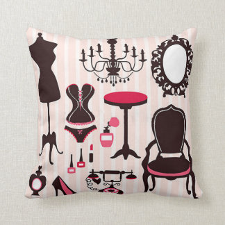 Pink Pillow Home Decor