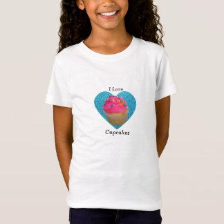 Rosa kleiner Kuchen der kleinen Kuchen der Liebe I T-Shirt