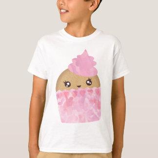 Rosa kleiner Kuchen scherzt T-Stück T-Shirt
