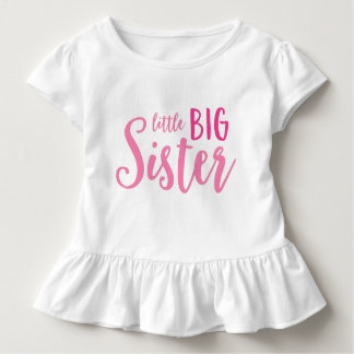 Rosa kleines große kleinkind t-shirt