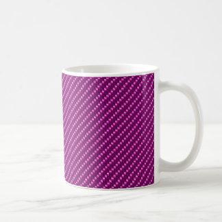 Rosa Kohlenstoff-Faser Kaffeetasse