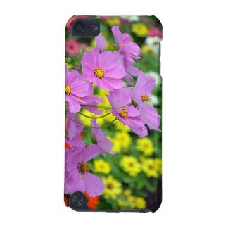 Rosa Kosmos-Blumen drucken Telefonkasten iPod Touch 5G Hülle