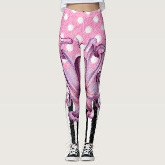 ROSA KRAKE Muster Leggings