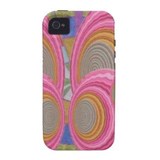 ROSA Kreis bewegt voll warmen der Energie von der iPhone 4/4S Case