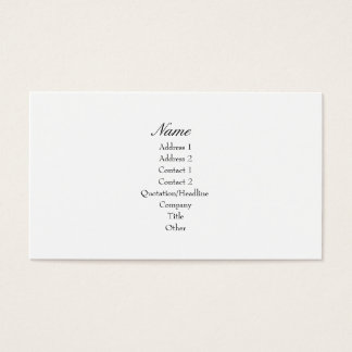Rosa Krone II Visitenkarte