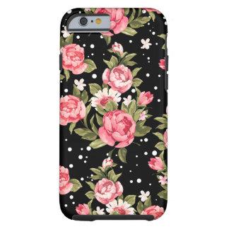 Rosa kümmerliche Pfingstrosen Tough iPhone 6 Hülle