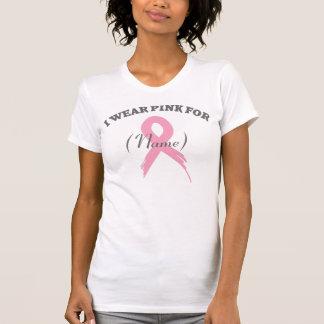 Rosa kundengerechter T - Shirt