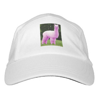 Rosa Lama-Hüte Headsweats Kappe