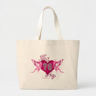 rosa Laufen von 76 Zahl Tasche