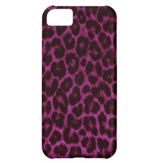 Rosa Leopard-Druck iPhone 5 Fall Hüllen Für iPhone 5C