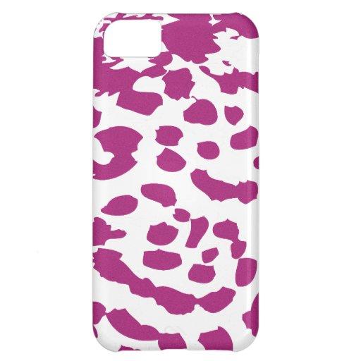 Rosa Leopard-Druck iPhone Fall iPhone 5C Cover