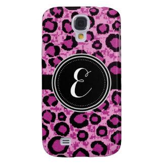 Rosa Leopard-Tierdruck-personalisierter Kasten Galaxy S4 Hülle