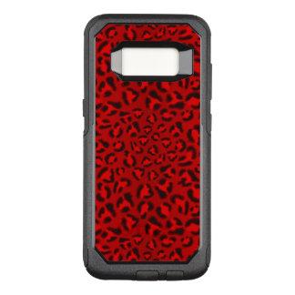 Rosa Leopardbeschaffenheitsmuster OtterBox Commuter Samsung Galaxy S8 Hülle