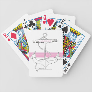 rosa Leutnant, tony fernandes Bicycle Spielkarten