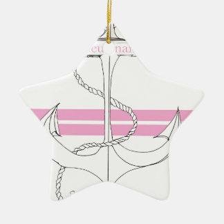 rosa Leutnant, tony fernandes Keramik Ornament