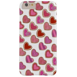Rosa Liebe-Herz-Kasten Herz-Plätzchenvalentines Barely There iPhone 6 Plus Hülle