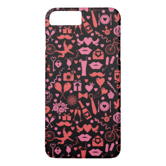 Rosa Liebe iPhone 8 Plus/7 Plus Hülle