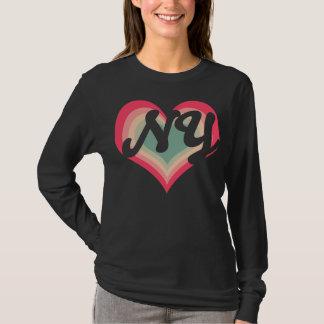 Rosa Liebe New York T-Shirt