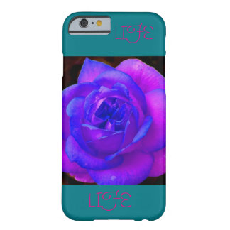 Rosa/lila Blume Iphone 6s Telefonkasten Barely There iPhone 6 Hülle
