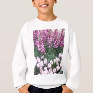 ROSA lila Blumen-Show: Liebe-sinnliches Romance Sweatshirt