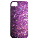 Rosa/lila Glitter-Schein Bling iPhone 5 Kasten Barely There iPhone 5 Hülle