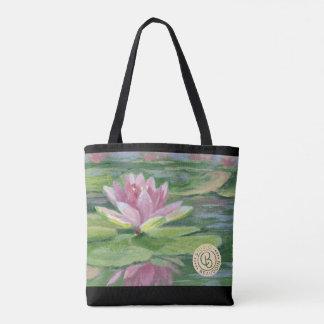 Rosa Lilien, Lilien-Auflagen, Tasche