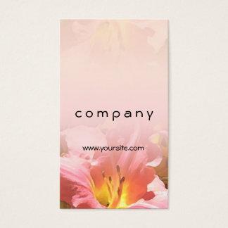 Rosa Lilien-Mischung Visitenkarte