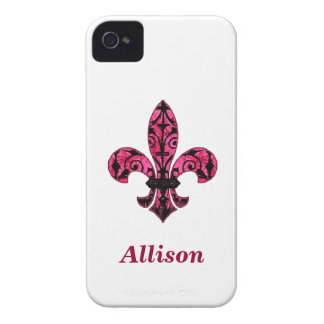 Rosa Lilien-Telefon-Kasten Case-Mate iPhone 4 Hülle