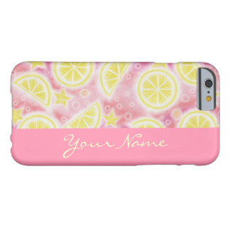 """Rosa Limonade-""""Name"""" iPhone 6 Fallrosa Barely There iPhone 6 Hülle"""