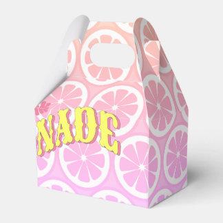 Rosa Limonade-Party Geschenkschachtel