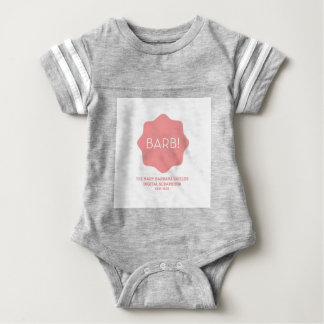 Rosa Logo Baby Strampler
