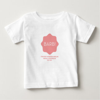 Rosa Logo Baby T-shirt