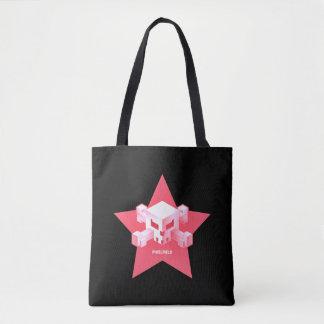 Rosa Logo-Tasche Pixelfield Spiel-| Tasche