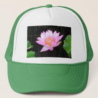 Rosa Lotos-Wasserlilie-Hut Truckerkappe