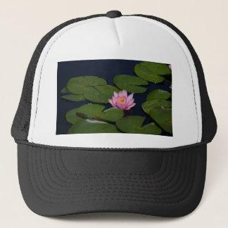 Rosa Lotos-Wasserlilie Truckerkappe