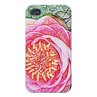 Rosa Lotus iPhone Fall - einzigartiges Yoga-Gesche iPhone 4/4S Case