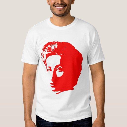 Rosa Luxemburg mit Zitat Tshirt