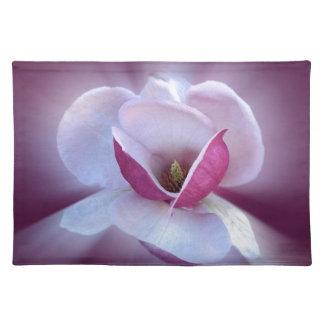 rosa Magnolienschatten Stofftischset