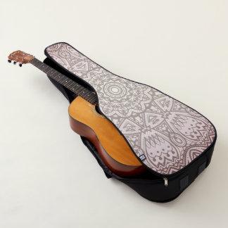 Rosa Mandala-Kunst-kosmische Gitarrentasche
