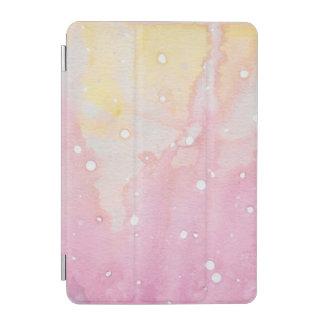 Rosa MarmorWasserfarbe platsch iPad Mini Hülle