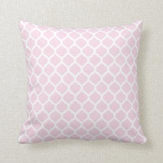 Rosa marokkanische Muster-Wurfs-Kissen Kissen