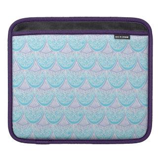 Rosa Meerjungfrauskalen, boho, Hippie, böhmisch iPad Sleeve