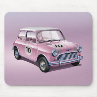 Rosa Mini Coopers S1 Mousepads