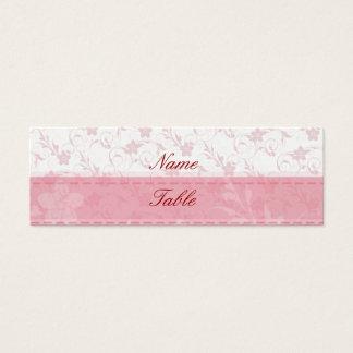 Rosa Mini Visitenkarte