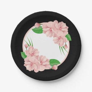 Rosa schwarze hochzeit geschenke for Rosa pappteller
